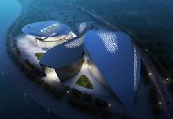 Performing Arts Center Qingdao Modern Green Architecture 2