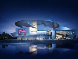 Performing Arts Center Qingdao Modern Green Architecture 3