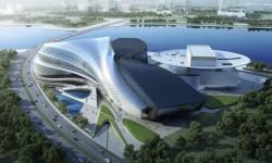 Performing Arts Center Qingdao Modern Green Architecture 4
