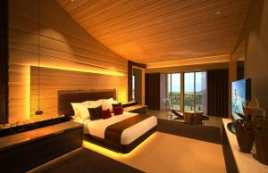 Hotel Interiors Modern Green Architecture 4