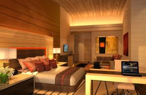 Hotel Interiors Modern Green Architecture 5