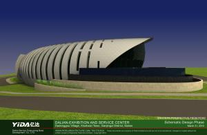 Exhibition Center Dalian Modern Green Architecture 1