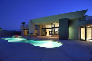 Seclude Rancho Mirage Modern Green Architecture 1